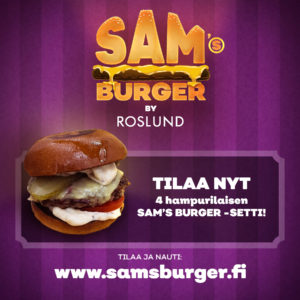 Sam´s Burger By Roslund