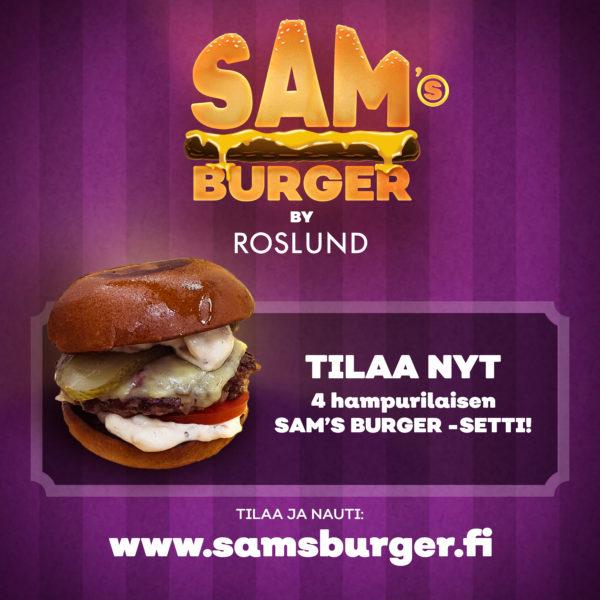 Sam´s Burger By Roslund